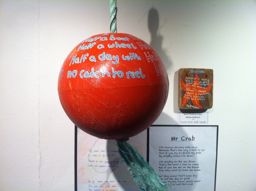 This was just the most beautifully crafted poem, carefully placed onto the lobster pot ball
