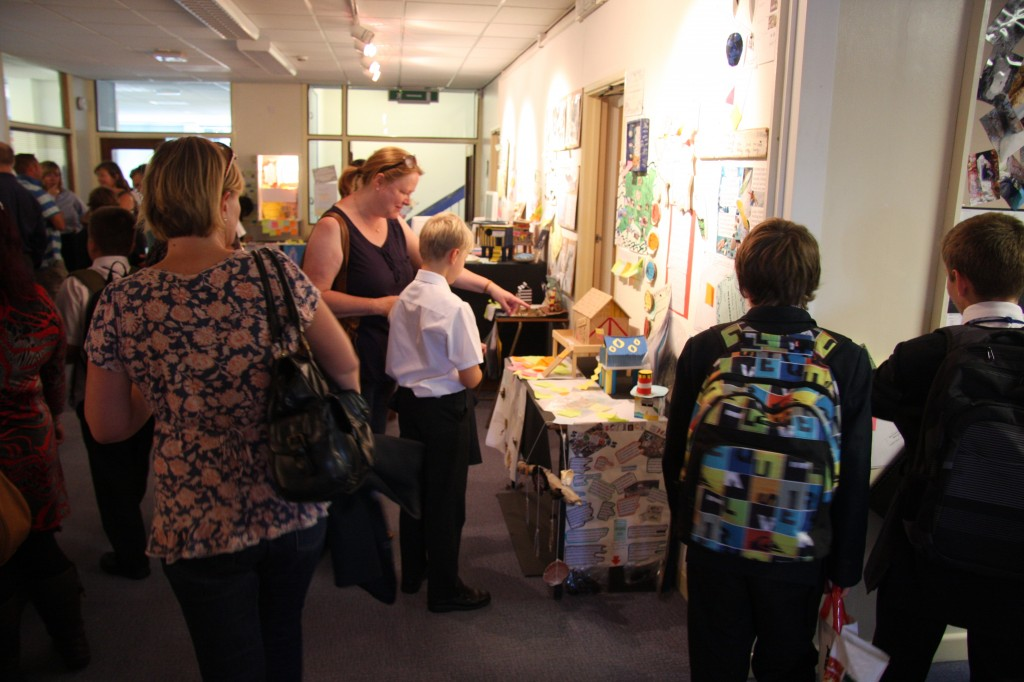 We had a great deal of parents in and invited in all our feeder primary schools to look round too.